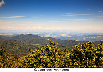 Landscape from Ko?evski Rog, Slovenia - Topview from...