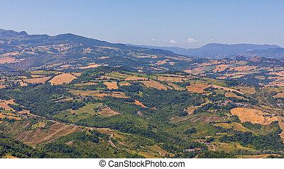 Landscape From San Marino