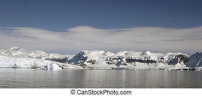 Landscape in Antarctica