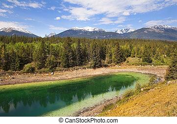 landscape in Banff Alberta, Canada