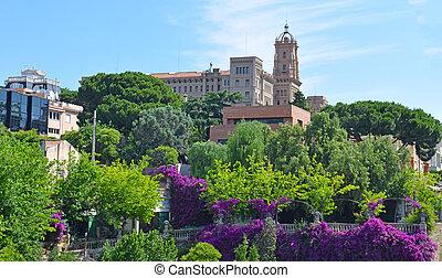 Landscape in Barcelona
