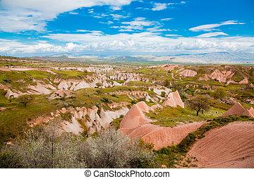 Landscape in Cappadochia