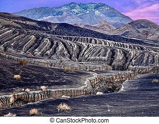 Landscape in Death Valley National Park.