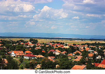 Landscape in Hungary