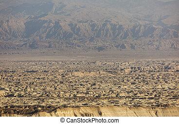 Landscape in Judean desert. Israel.