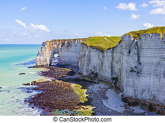 Landscape in Normandy