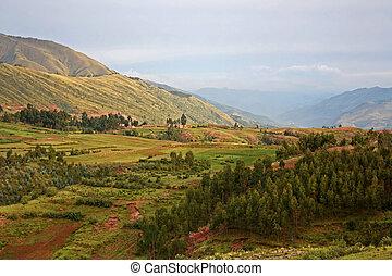 Landscape in Peru, South America