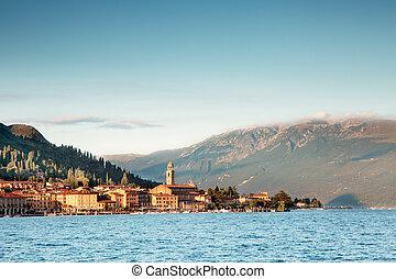 Landscape in Sal on Lake Garda in the province of Brescia - Italy
