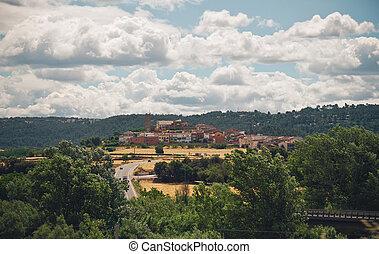 Landscape in Spain