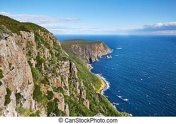 Landscape in Tasmania - Pristine landscape on Tasman...