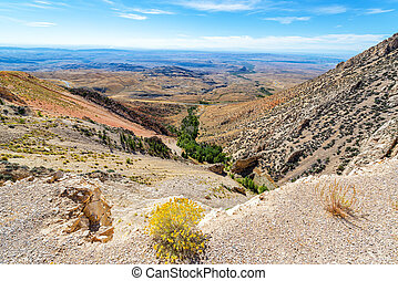 Landscape in the Bighorn Mountains