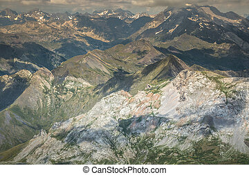 Landscape in the Pyrenees National Park