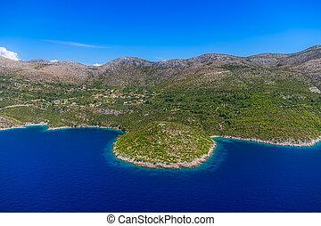 landscape, kroatië, adriatisch