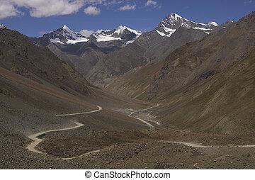 landscape, ladakh