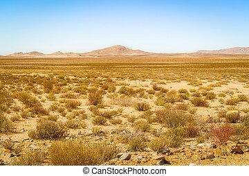 Landscape near Vioolsdrif in South Africa
