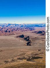 landscape of Afghanistan.