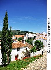 Landscape of Alegrete village, Portugal