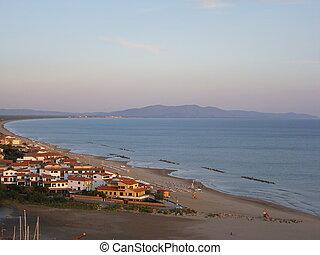 Argentario seacoast - Landscape of Argentario seacoast