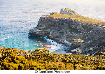 Cape of Good Hope in South Africa - Landscape of beautiful...