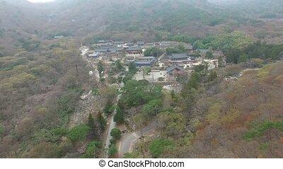 Landscape of Beomeosa Temple at Spring Season, Busan , South Korea, Asia