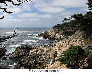 Landscape of California Coast