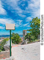 landscape of Campobasso