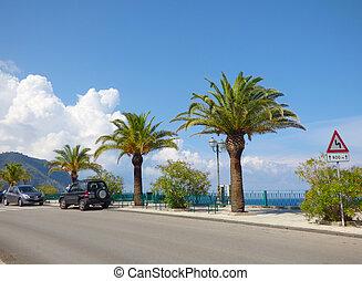 Landscape of Gioiosa Marea at Sicily