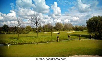 landscape of golf club
