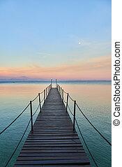 Landscape of Lake Garda