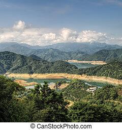 Landscape of lake