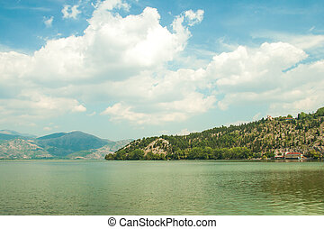 Landscape of Lake Orestiada