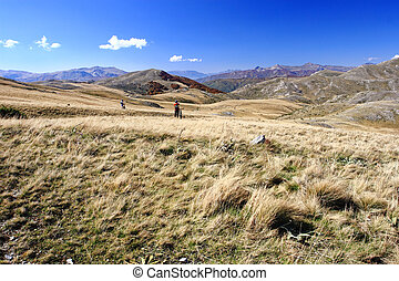 Landscape of Macedonia - Landscape from the Mavrovo Region...