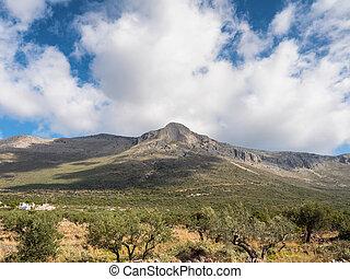 Landscape of Mani, Laconia, Greece - Landscape of mountain ...