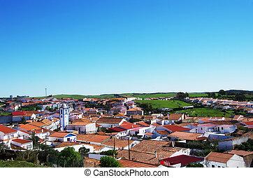 landscape of Messejana village,Alentejo,Portugal
