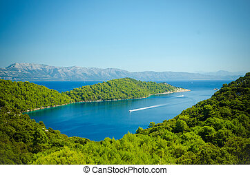 Landscape of Mljet