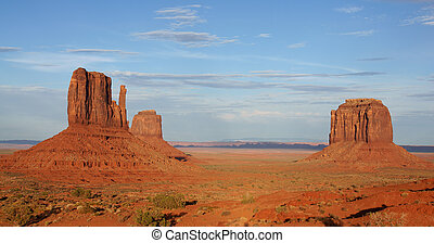 Monument Valley - Landscape of Monument Valley in USA