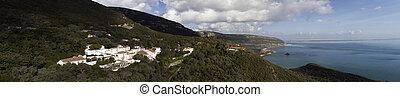 Landscape of National park of Arrabida in Portugal