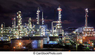 Landscape of oil refinery industry