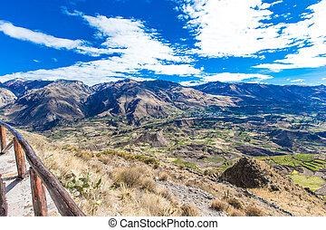 landscape of  Peru - landscape of Peru