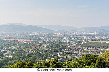 Landscape of phuket town, Thailand - Landscape of phuket ...