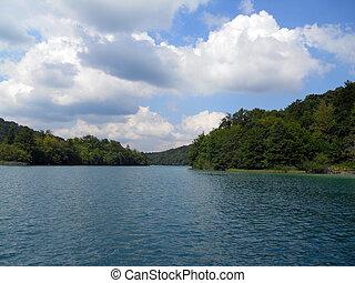 Landscape of Plitvice