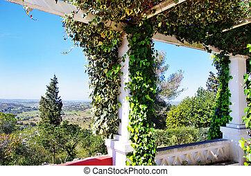 Landscape of portuguese belvedere
