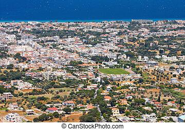 landscape of Rhodes Island, Greece