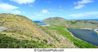 Landscape of Saint Kitts