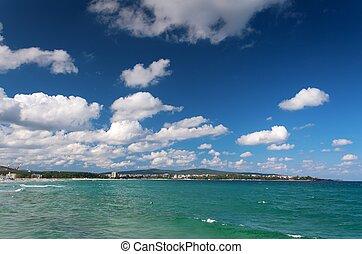 landscape of sea