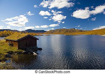 Norway - landscape of Southern Vestlandet, Norway