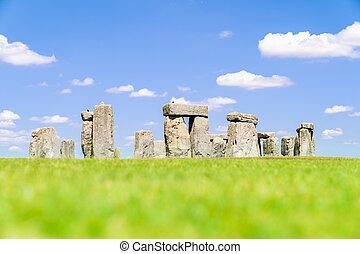 Stonehenge England - Landscape of Stonehenge England United...