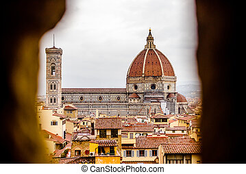 Landscape of the Florence, Italy, panorama