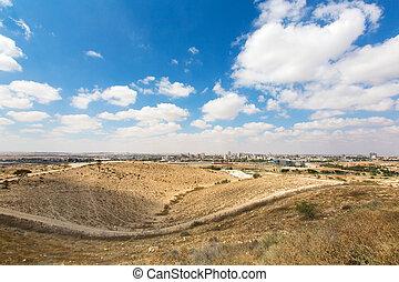 landscape of the Negev