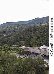 Amazing  landscape of Topolnitsa Reservoir, Sredna Gora Mountain, Bulgaria
